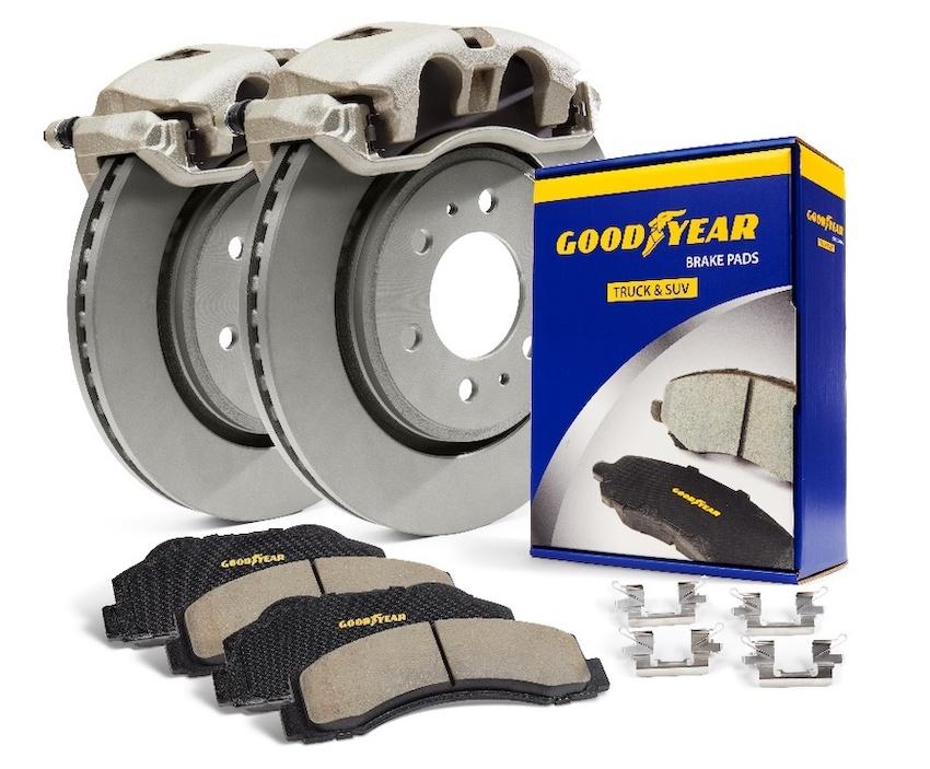 Goodyear Brakes annonce une ligne de freinage premium