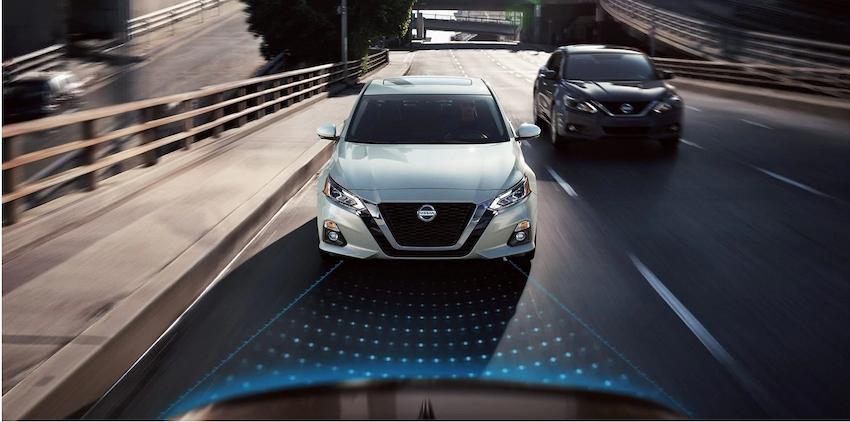 La technologie des boucliers de sécurité de Nissan est de série sur 10 modèles