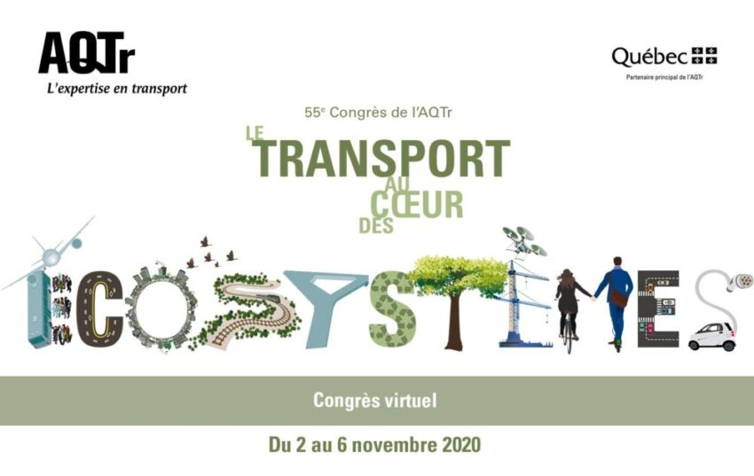 Le 55e Congrès de l'AQTr…une première en format virtuel
