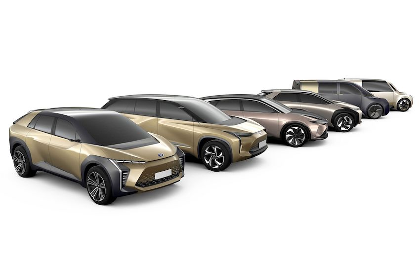 Les Toyota électriques s'en viennent !