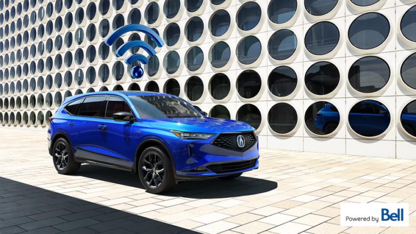 Bell et Honda Canada annoncent un nouveau partenariat pour voiture connectée
