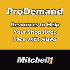 Fonction ADAS QuickLink maintenant offerte par Mitchell 1